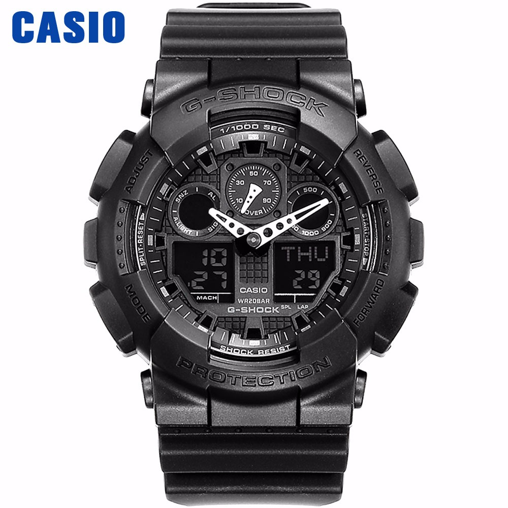 0ff52d2c875b Reloj Casio G-SHOCK de los hombres de cuarzo reloj deportivo a prueba de  golpes
