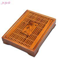 Tea Set Kung Fu Tea Tray Drain Size Desk Drawer Wood Tea Tray Specials