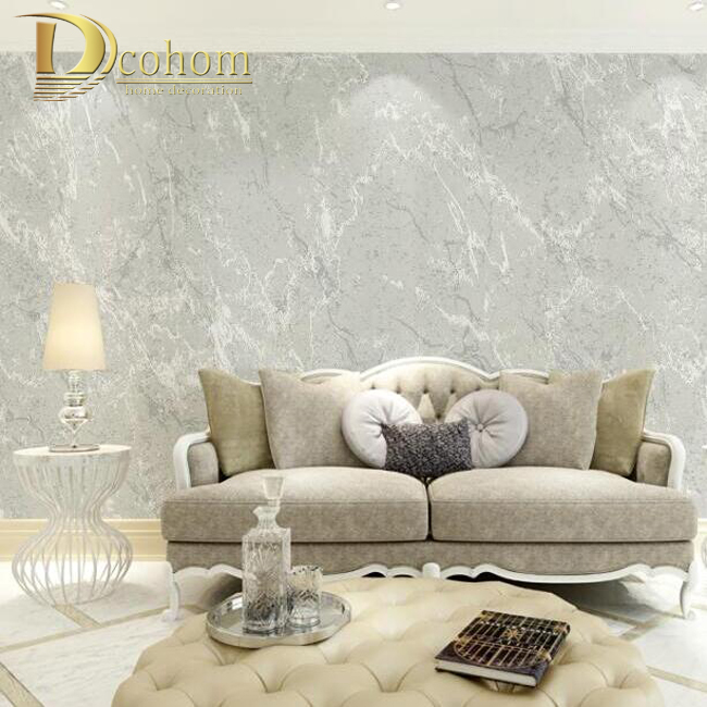 Online buy wholesale covering textured wallpaper from for Grey lounge wallpaper