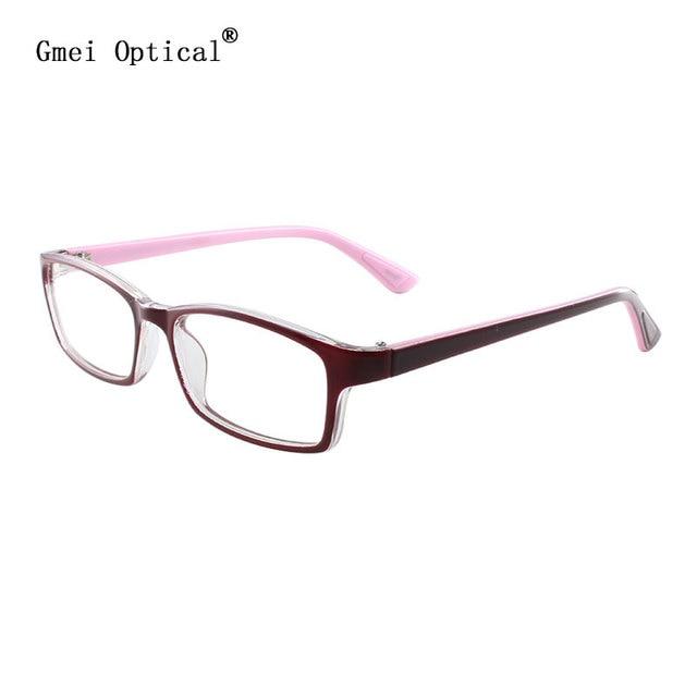 JiMei Оптическая Очки Бордовый Ацетат Полный Обод Рецепт Очки Очковая оправа для Очков Мода T8114 Оптический