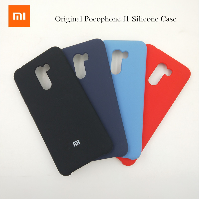 Xiaomi Protective-Cover Mobile-Phone-Bags Liquid Silicone Silky Original Soft-Touch-Case
