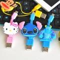 De la nueva Historieta de Carga USB Cable de Datos de Carga Para Samsung Nokia HTC Xiaomi Mini Cable de Datos Envío Gratis