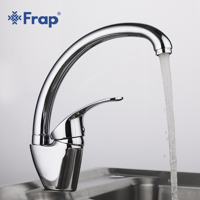 Charmant Frap High Quality Kitchen Faucets Silver Single Handle Flexible Mixer Tap  Swivel Spout Cold And Hot