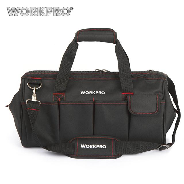 WORKPRO Waterproof Travel Bags Men Crossbody Bag Tool Bags Large Capacity Bag for Tools Hardware Free Shipping
