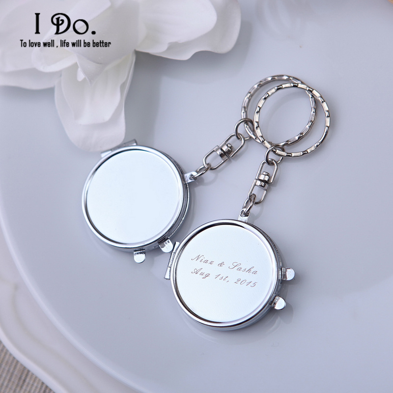 Shipping Personalized Mirror Compacts Wedding Favors And Gifts Wedding ...