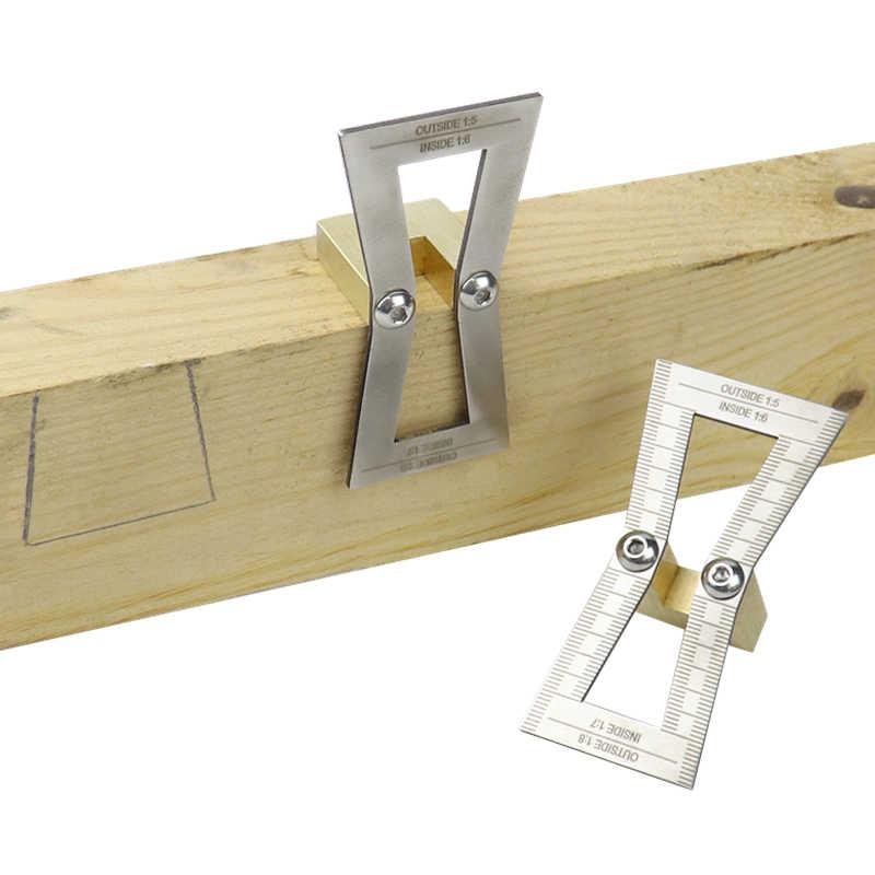 Herramienta de guía de acero inoxidable para juntas de madera para cortar a mano