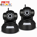 IMIEYE 2pcs/lot 720P wireless ip camera wifi ipcamera pan tilt P2P ip kamepa TF card Memory record CCTV security wifi ipcamera