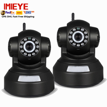 IMIEYE 2pcs/lot 720P wireless ip camera wifi ipcamera pan tilt P2P ip kamepa TF card Memory record CCTV security wifi ipcamera
