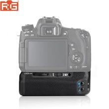MEIKE MK 760D Verticale Batterie support de prise en main pour Canon 750D 760D LP E17 comme BG E18, Caméra Poignée Batterie pour Canon 750D 760D
