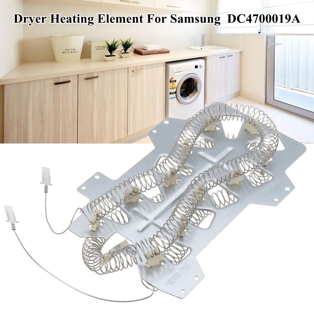 Dryer Heater Heating Element Replacement Kit 240V 5300WC For SAMSUNG DC4700019A DC47-00019A