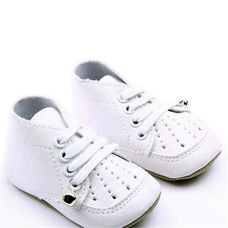 796465a2b Новый Ленточки детские мокасины новорожденных Обувь мягкая подошва  Искусственная кожа Prewalkers Сапоги и ботинки для девочек