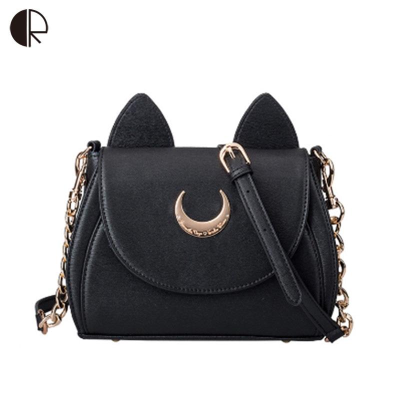 ee20b487cda Hot Fashion Style Bags Famous Cute Design Women Messenger Bag Moon LUNA Vega  Sailor Moon Bag