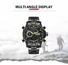 купить WEIDE Luxury Brand Watch Sport Men Digital Stainless Steelin Quartz Watch Man Waterproof  Army Alarm Clock Automatic Self-Wind по цене 1404.23 рублей