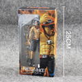 One Piece ZERO Portgas D Ace PVC Action Figure Model Collection Toy 20 cm frete grátis