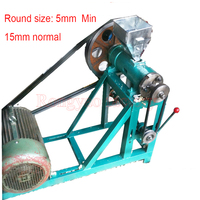 Round type corn rice extrudering machine for snacks or for animals rice corn Extruder/ food extruder (with motor )