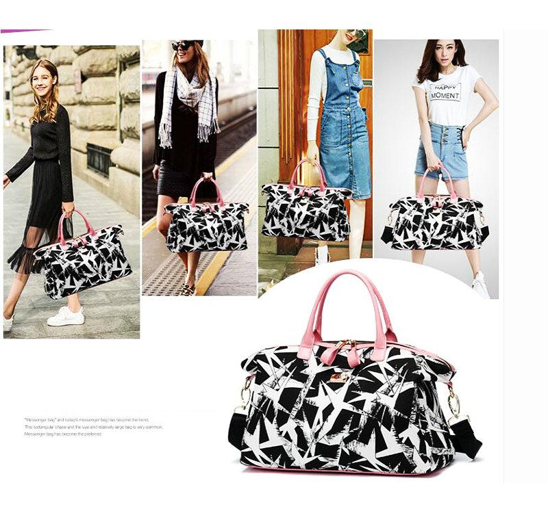 ... Large Capacity Duffel Bag Outdoor Ladies Travel Storage Handbag New  Style Sport Crossbody Bag. AXT1. AXT2. Name Pink Black Women Gym Bag  Fitness Bag 257ba5c0a6