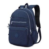 Travel Backpack for Teenage Girls Nylon Back Bag Woman Laptop Waterproof Bag Pack mochilas mujer 2018 Ladies School Bags sac