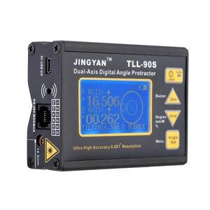 Image 4 - TLL 90S Portatile Mini Digital Display LCD Angolo di Goniometro Angle Meter Professionale Dual axis Laser Livello Inclinometro