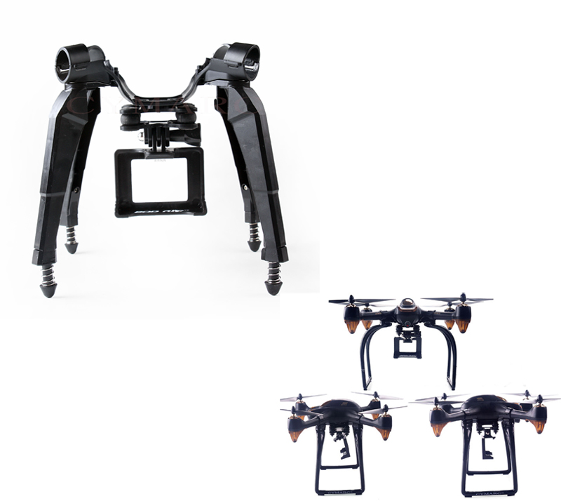 Upgraded Landing Gear Standing Feet Tripod Frame Camera Holding Support Gopro Aerial Hanging PTZ Gimbal For