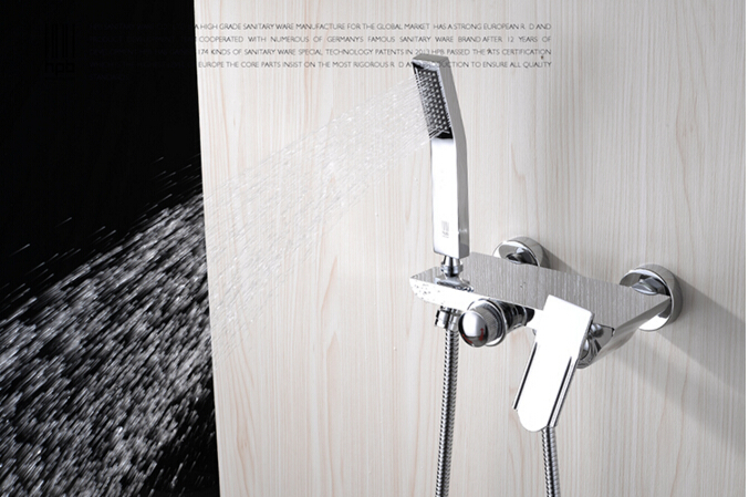New Arrival Top High Quality Chrome Wall Mounted Waterfall