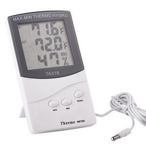 LCD Max-Min Thermometer Hygrom