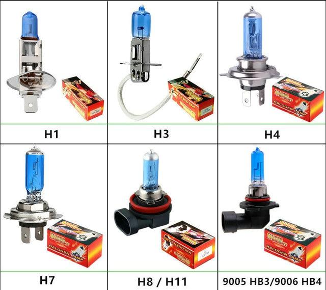 Car Light H1 H3 H4 H7 H8 H9 H11 9005 HB3 9006 HB4 880 881 Auto
