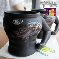 החורף מגיע אנימה משחקי כס סטארק ספלי כוסות צעצועי דמות רגיש קרמיקה תה La Copa לחברים Chirstmas מתנה