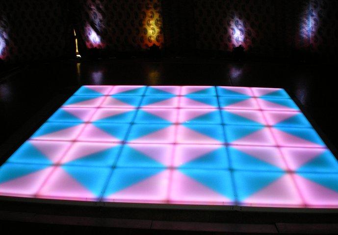 Acrylic 1x1 Meter LED Dance Floor Tiles RGB Dance Floors ...
