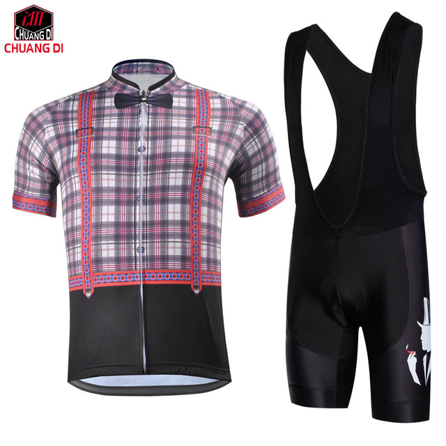 ZM Retro gentleman Cycling Jersey Quick Dry Clothing Wear +Cycle Bike  Bicycle sportswear outdoor fun eed42ac31