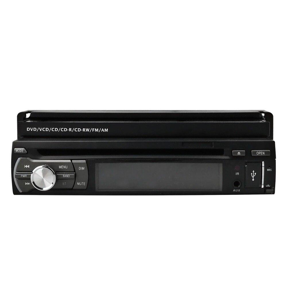 Lecteur DVD de voiture à écran tactile universel 1 Din 7