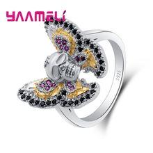 Специальный стиль кольцо на палец Стерлинговое Серебро 925 пробы