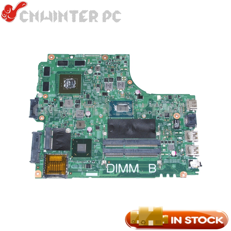 NOKOTION DNE40-CR MB 5J8Y4 CN-01FK62 01FK62 For <font><b>Dell</b></font> inspiron <font><b>3421</b></font> 5421 Laptop Motherboard <font><b>I5</b></font>-3337U CPU GT730M Video card image