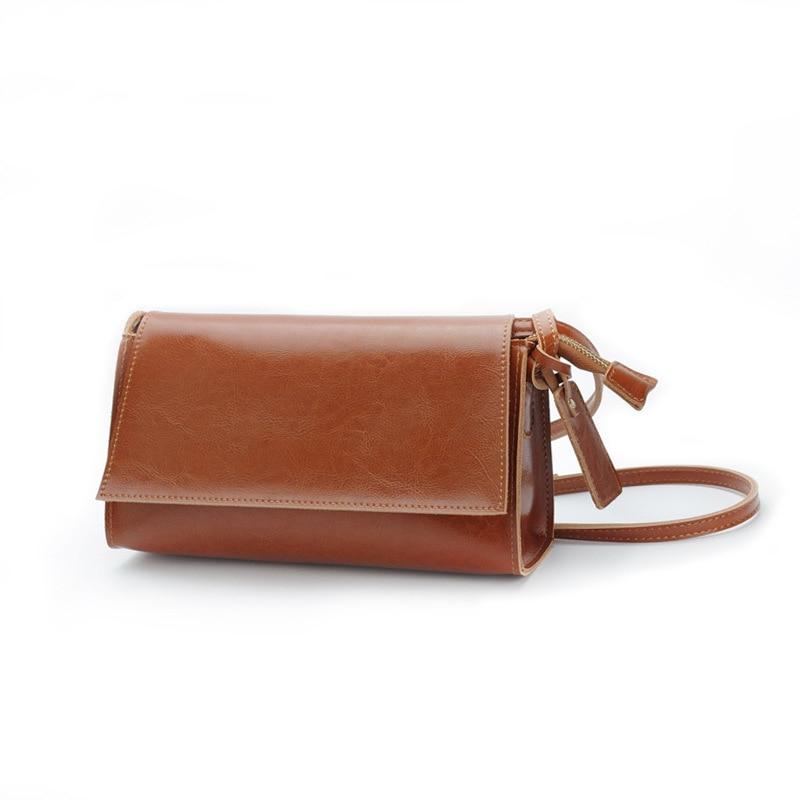 Sweet Style Mini Women Crossbody Bag Split Leather Small Flap Bag Elegant Lady Shoulder Bag Fashion