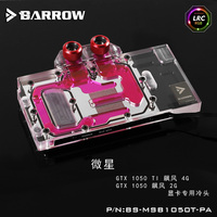 BARROW BS MSB1050T PA LRC RGB V1 V2 Full Cover Graphics Card Water Cooling Block For