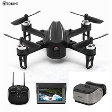 Eachine EX2mini Brushless 5.8G FPV Câmera Com Ângulo de Modo Modo Acro RC Drone Quadcopter RTF(China)
