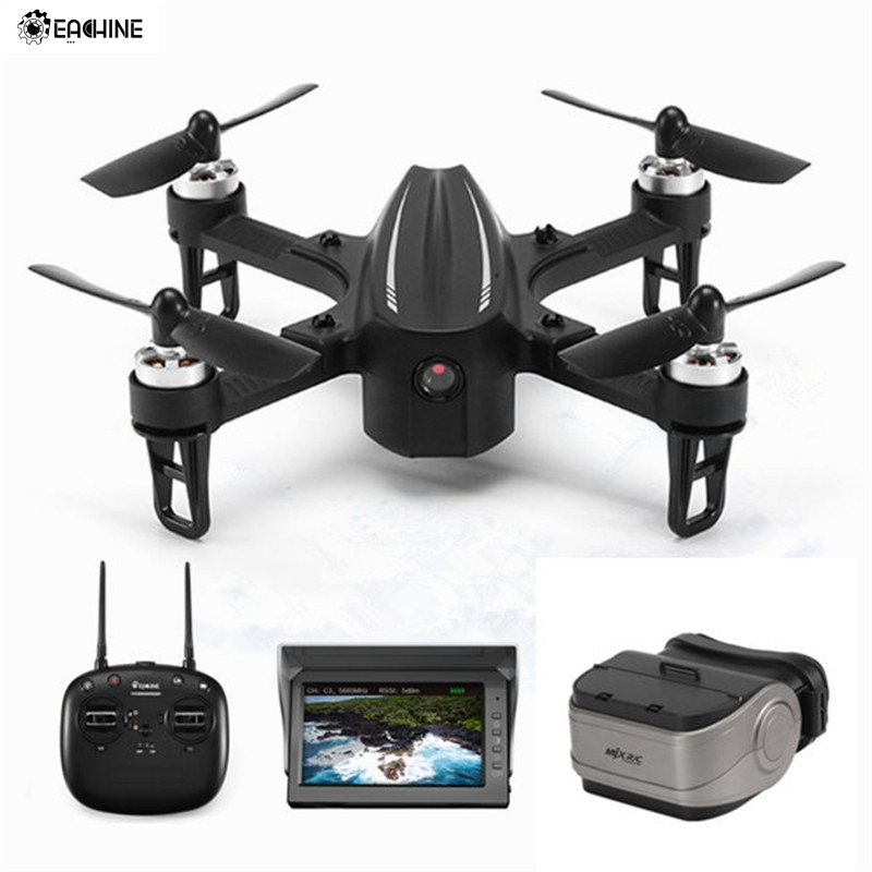 Eachine ex2mini câmera sem escova 5.8g fpv com modo de ângulo modo acro rc zangão quadcopter rtf|Helicópteros rc| |  -