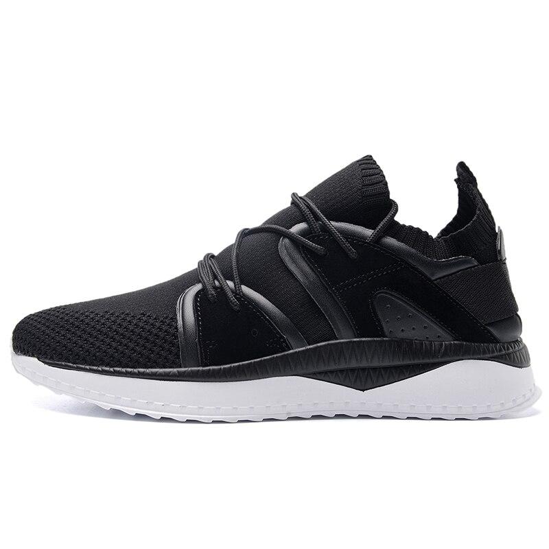 Мужская спортивная обувь для бега мужские кроссовки дышащие сетчатые уличные спортивные легкая обувь мужская обувь - 3