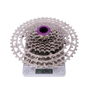 Image 5 - ZTTO MTB 10 hız SLR bisiklet kaset 11 46T geniş oranı CNC Ultralight Freewheel dağ bisiklet 10 S dişli X0 X9 M610 M781