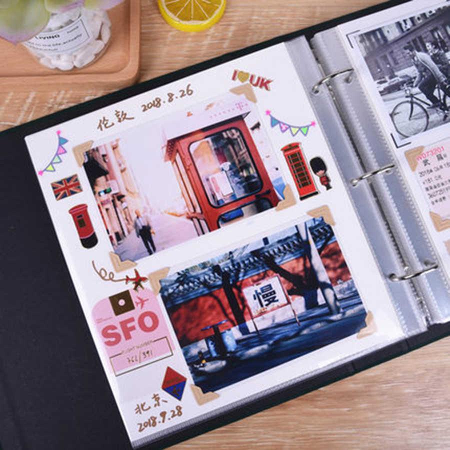 Creative Photo Album Scrapbook Wedding Photo Album Baby Our Adventure Book Romantic Gifts For Boyfriend Lovers Memory Book Nct 1