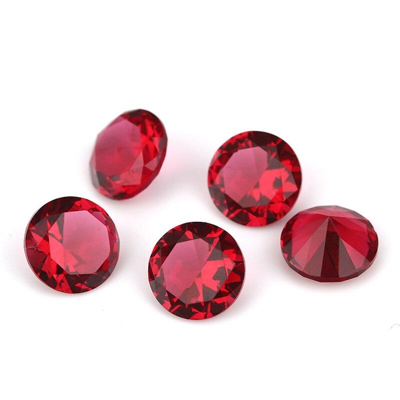 1 ~ 15 მმ ვარდისფერი წითელი - მოდის სამკაულები - ფოტო 5