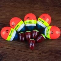 Anmuka High Quality Fishing Float Bobber B 2B 3B 4B 5B Set Float Pot Bellied Flats