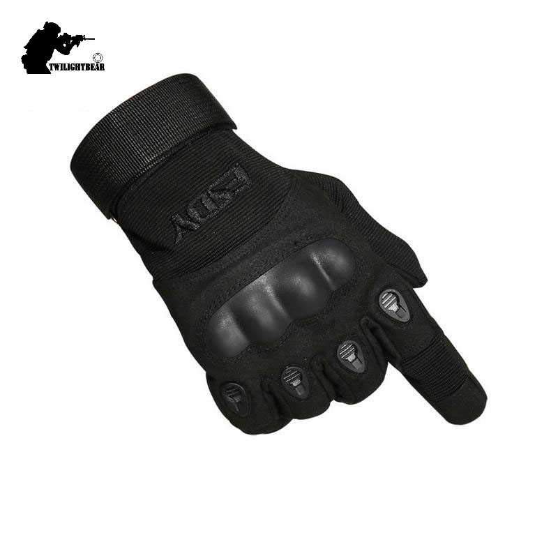 Military Full Finger Tactical Gloves High Quality Black Anti Cutting Non Slip Sport Gloves For Men Women ARMY KHAKI M~XL AE001