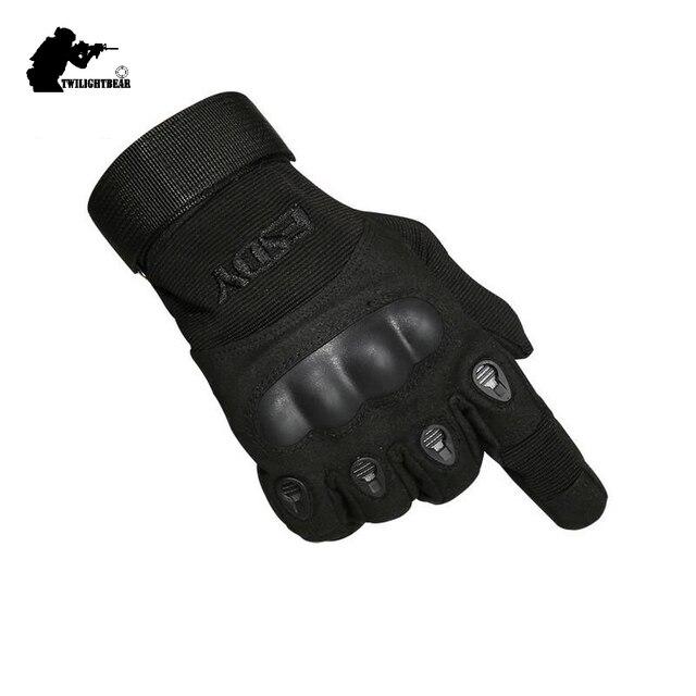 Military Full Finger Tactical Gloves High Quality Black Anti Cutting Non Slip Sport Gloves For Men Women ARMY KHAKI M~XL AE001