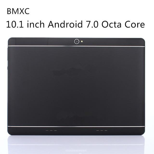 Оригинальный BMXC10.1 дюймов Android 7.0 Octa core Планшеты 3 г 4 г LTE Dual SIM Телефонный звонок 64 ГБ Встроенная память 4 ГБ Оперативная память WI-FI Bluetooth GPS Планшеты PC