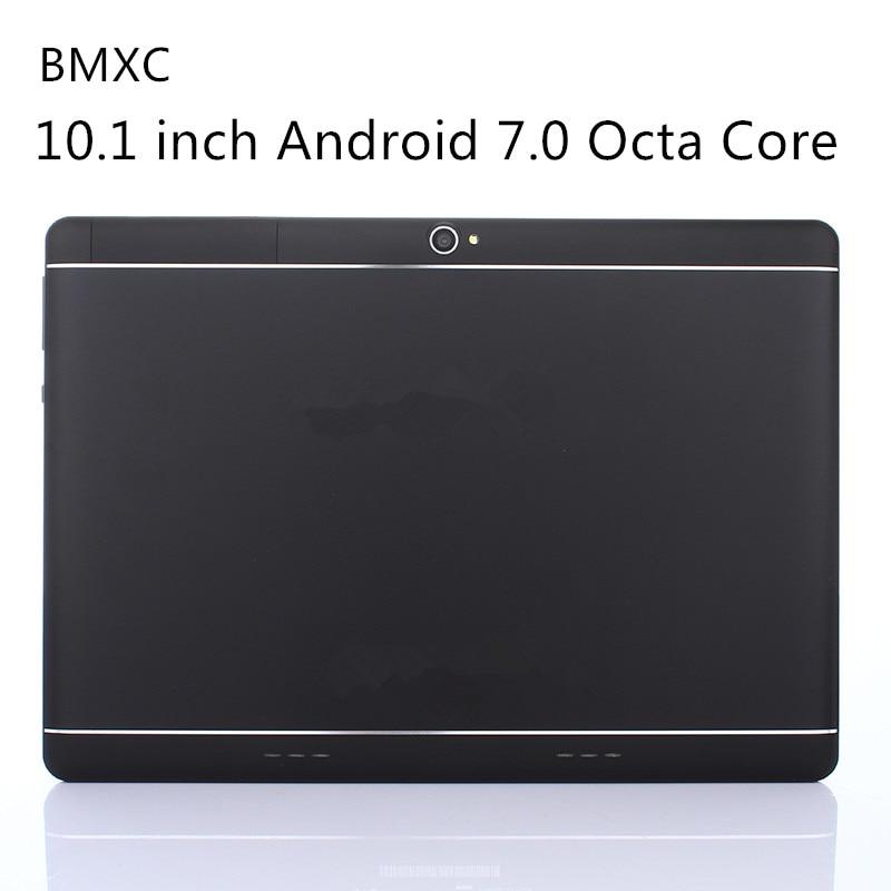 Оригинальный bmxc10.1 дюймов Android 7.0 Octa core Планшеты 3G 4 г LTE Dual SIM Телефонный звонок 64 ГБ Встроенная память 4 ГБ оперативная память WI-FI Bluetooth GPS Планшеты PC