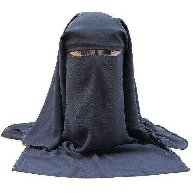HOT LONG MUSLIM MASK ISLAMIC VEIL niqabveil longveil islamveil mask