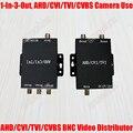 AC100V ~ 240 V DC12V 1 entrada y 3 Salidas CVBS BNC CVI TVI AHD conector De Vídeo 1-3CH Divisor Analógico HD CCTV Cámara de Seguridad