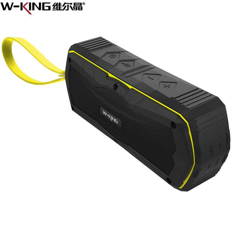 W-king S9 Bluetooth Speaker TF USB Aux In Loudspeakers Portable Waterproof Outdoor MP3 Speaker Power Bank For IPhone Xiaomi