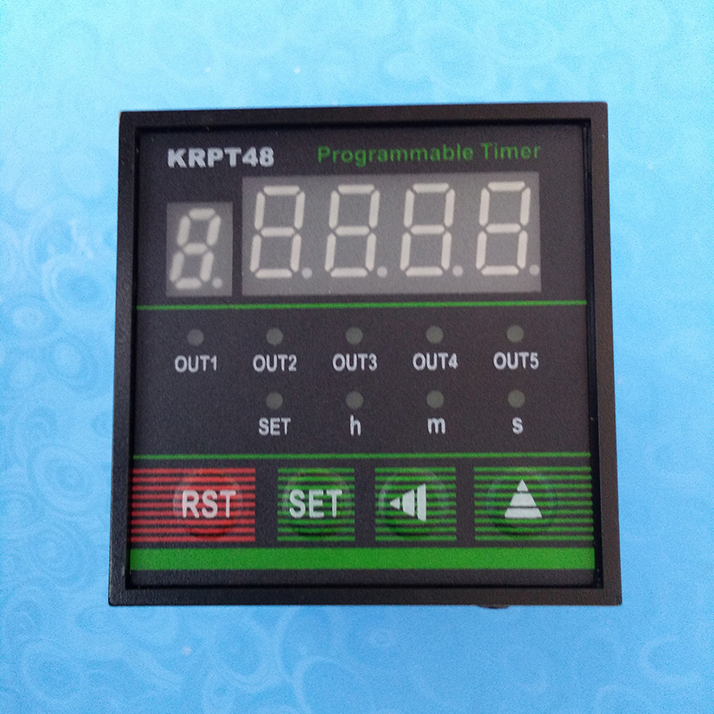 Programmable Multi channel Time Relay 3 way Recyclable Industrial Time Controller Digital Display Timer KRPT48