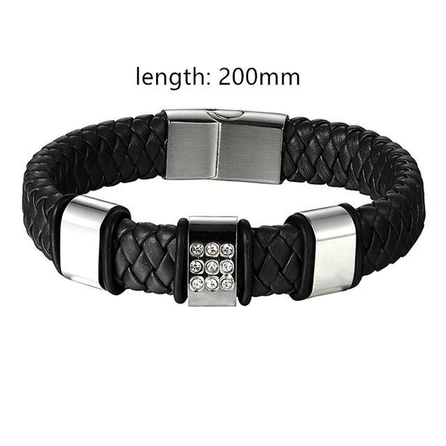 LKO Men Jewelry Black...